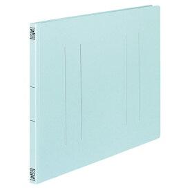 コクヨ フラットファイルV(樹脂製とじ具) A3ヨコ 150枚収容 背幅18mm 青 フ−V48B 1パック(10冊)