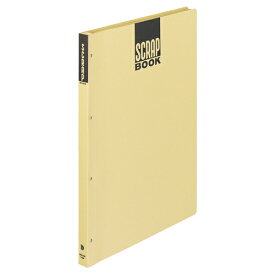 コクヨ スクラップブックD(とじこみ式) A3 中紙28枚 背幅25mm クラフト ラ−43N 1冊