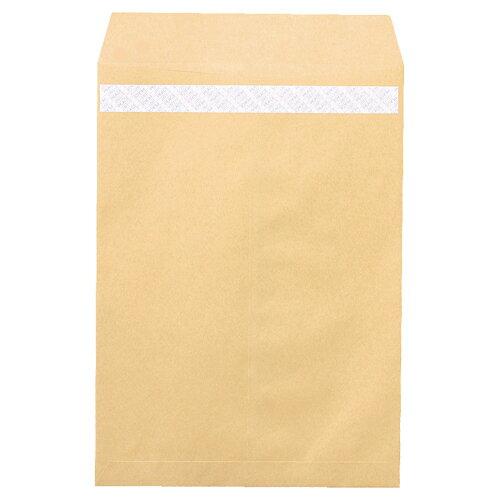 ピース R40再生紙クラフト封筒 テープのり付 角2 85g/m2 業務用パック 697 1箱(500枚) 【送料無料】