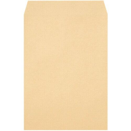 TANOSEE クラフト封筒 テープ付 角2 85g/m2 〒枠なし 1箱(500枚) 【送料無料】