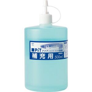 トンボ鉛筆 液体のり アクアピット 補充用 500ml PR−WT 1個