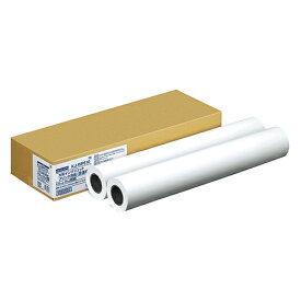 【お取寄せ品】 コクヨ 大判インクジェットプリンタ用紙普通紙 24インチロール 610mm×50m KJ−WP610 1箱(2本) 【送料無料】