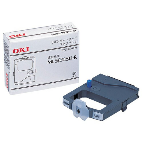 沖データ ML5650SU−R用インクリボン 黒 RN6−00−009 1箱(6本) 【送料無料】