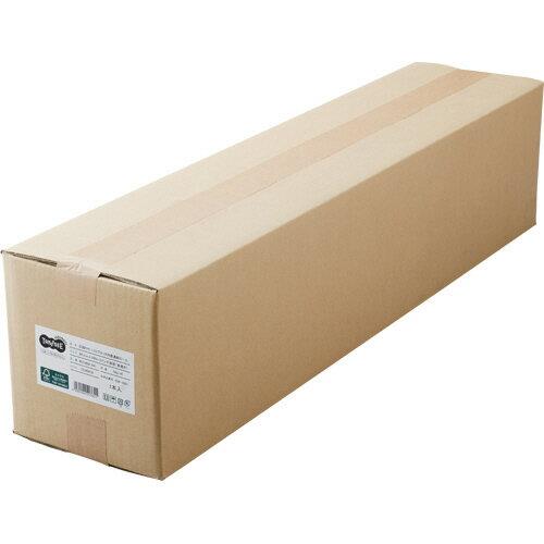 TANOSEE PPC・LEDプロッタ用普通紙 A0ロール 841mm×200m 3インチ紙管 素巻き 1本 【送料無料】