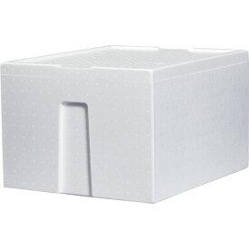 石山 発泡容器 なんでも箱 44.3L ホワイト TIS−500KAIV 1個