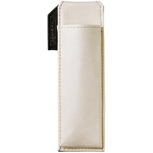 【お取寄せ品】 キングジム はさめるペンケース ペンサム スリムタイプ 白 2001シロ 1個