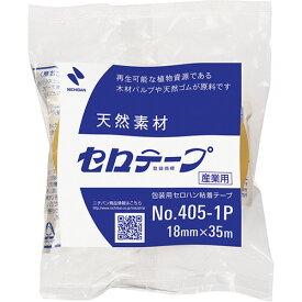 ニチバン 産業用セロテープ 大巻 18mm×35m 4051P−18 1巻