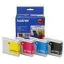 ブラザー インクカートリッジ お徳用 4色 LC10−4PK 1箱(4個:各色1個) 【送料無料】