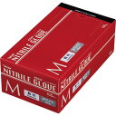 川西工業 ニトリル 使いきり極薄手袋 粉付 ホワイト M #2044 1箱(100枚)