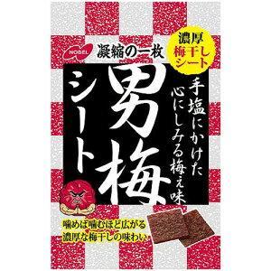 ノーベル 男梅シート 27g 1袋