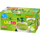 伊藤園 おーいお茶 さらさら抹茶入り緑茶 スティック 0.8g 1箱(100本)
