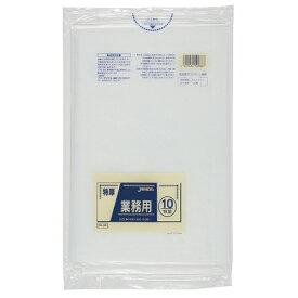 ジャパックス 特厚ゴミ袋 透明 80L DK−88 1パック(10枚)