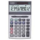 カシオ 本格実務電卓 12桁 ジャストサイズ JS−200W−N 1台 【送料無料】