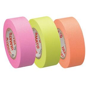 ヤマト メモック ロールテープ 蛍光紙 つめかえ用 15mm幅 オレンジ&レモン&ローズ RK−15H−C 1パック(3巻)