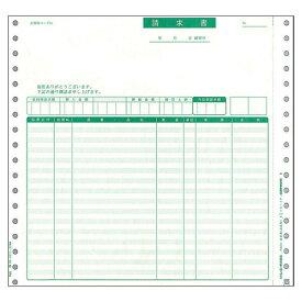 【お取寄せ品】 PCA 請求書品名明細 連続紙 2枚複写 PB311F 1箱(1000枚) 【送料無料】