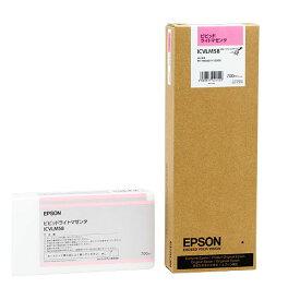 エプソン PX−P/K3インクカートリッジ ビビッドライトマゼンタ 700ml ICVLM58 1個 【送料無料】