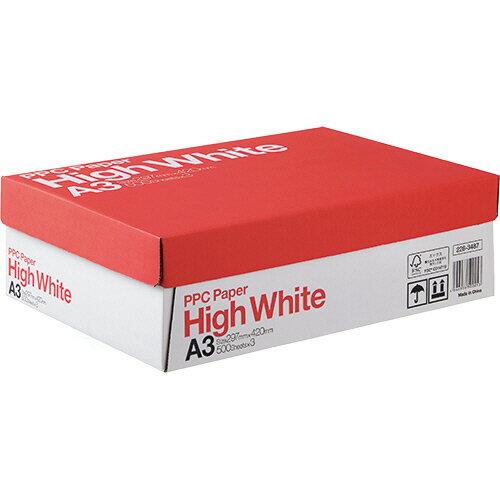 PPC PAPER High White A3 1箱(1500枚:500枚×3冊)
