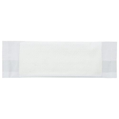 TANOSEE 紙エンボスおしぼり 平型 1ケース(1200枚)