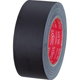 スリオンテック 布粘着テープ マットクロス 50mm×25m 黒 334542クロ 1巻