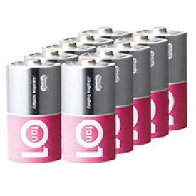 TANOSEE アルカリ乾電池 プレミアム 単1形 1箱(10本)