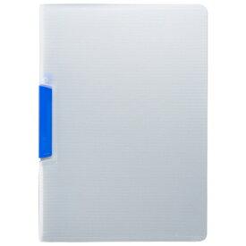 TANOSEE スライドクリップファイル A4タテ 青 1冊