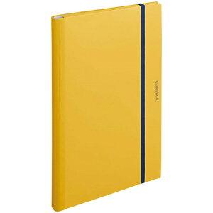 【お取寄せ品】 キングジム 二つ折りクリアーファイル コンパック A3 10ポケット 黄 5896H 1冊
