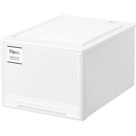 天馬 Fits フィッツケースmono クローゼット L−53 ホワイト 1個 【送料無料】
