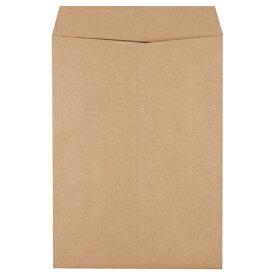 ピース 発送用封筒スーパークラフト テープなし 角2 100g/m2 業務用パック 733−00 1箱(500枚) 【送料無料】