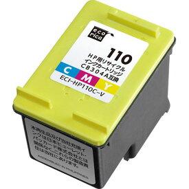 【お取寄せ品】 エコリカ リサイクルインクカートリッジ [HP:CB304AA互換] ECI−HP110C−V 1個