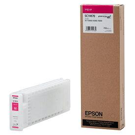 エプソン インクカートリッジ マゼンタ 700ml SC1M70 1個 【送料無料】