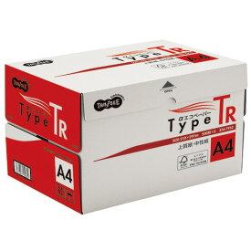 TANOSEE αエコペーパー タイプTR A4 1箱(2500枚:500枚×5冊)