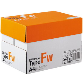 TANOSEE PPC Paper Type FW A4 PPCFW−A4−5 1箱(2500枚:500枚×5冊)