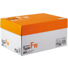 TANOSEE PPC Paper Type FW A4 PPCFW−A4 1箱(5000枚:500枚×10冊) 【送料無料】