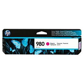 【お取寄せ品】 HP HP980 インクカートリッジ マゼンタ 顔料系 D8J08A 1個 【送料無料】