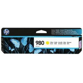 【お取寄せ品】 HP HP980 インクカートリッジ イエロー 顔料系 D8J09A 1個 【送料無料】