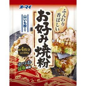 日本製粉 オーマイ お好み焼粉 200g 1パック