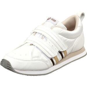 【お取寄せ品】 ムーンスター リハビリ介護靴 Vステップ06 ホワイト 26.0cm VS06WH 1足 【送料無料】