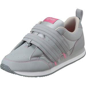 【お取寄せ品】 ムーンスター リハビリ介護靴 Vステップ06 グレイ 24.0cm VS06GR 1足 【送料無料】