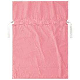 店研創意 ストア・エキスプレス 梨地リボン付ギフトバッグ ピンク 31cm 1パック(20枚)