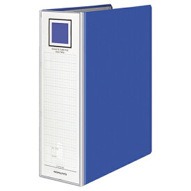 コクヨ ガバットチューブファイル(エコツイン) A4タテ 800枚収容 80mmとじ 背幅95mm 青 フ−GT6120B 1冊