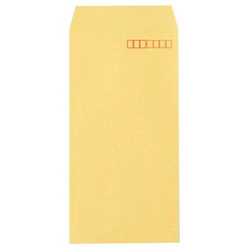 TANOSEE R40クラフト封筒 長3 70g/m2 〒枠あり 業務用パック 1箱(1000枚)