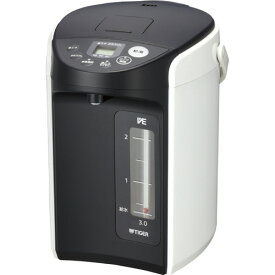 タイガー魔法瓶 VE電気まほうびん とく子さん 3.0L PIQ−A300W 1台 【送料無料】