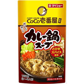 ダイショー CoCo壱番屋監修 カレー鍋スープ 750g 1個