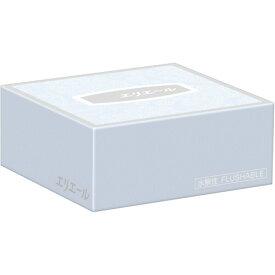 大王製紙 エリエールティシュー(水解性) ハーフサイズ 50組 1箱