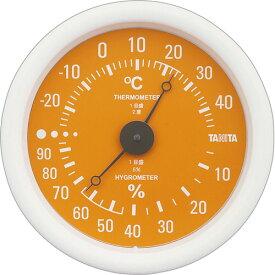タニタ アナログ温湿度計 オレンジ TT−515−OR 1個