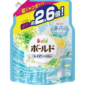 P&G ボールドジェル フレッシュピュアクリーンの香り つめかえ用 超ジャンボ 1580g 1パック