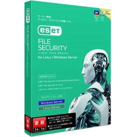 【お取寄せ品】 キヤノンITソリューションズ ESET File Security for Linux Windows Server 更新(CMJ−EA05−E07) 3549V72901 1本 【送料無料】