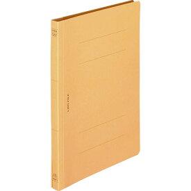 ライオン事務器 フラットファイル(環境) 樹脂押え具 B5タテ 150枚収容 背幅18mm 黄 A−527KB5S 1セット(10冊)