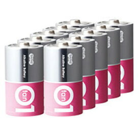 TANOSEE アルカリ乾電池 プレミアム 単1形 1セット(100本:10本×10箱) 【送料無料】