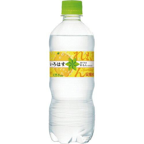 コカ・コーラ い・ろ・は・す スパークリング れもん 515ml ペットボトル 1ケース(24本)